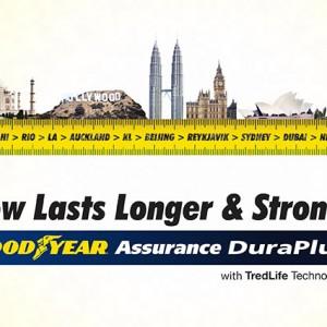 Goodyear Assurance Duraplus Tubeless Tyre