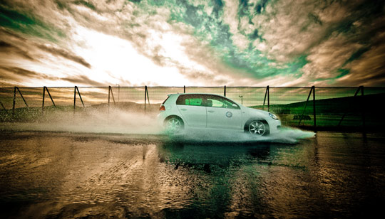 Driving in Wet Conditions - Banner 2