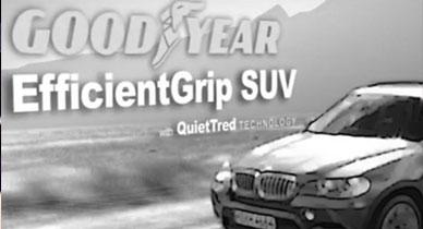 Goodyear EfficientGrip SUV Tyre