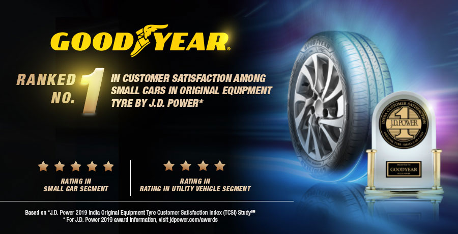 Goodyear Ranks No. 1 in Customer Satisfaction